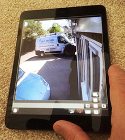cctv on smartphone Chippenham